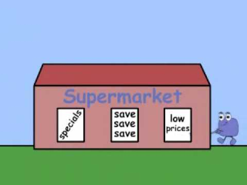 Supermarket Song by Peter Weatherall