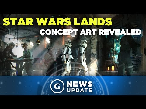 Star Wars Lands Concept Art Revealed - GS News Update