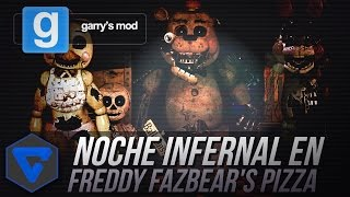 NOCHE INFERNAL EN FREDDY FAZBEAR'S PIZZA MAPA CON EVENTOS - FIVE NIGHTS AT FREDDY'S GMOD CON TOWN thumbnail