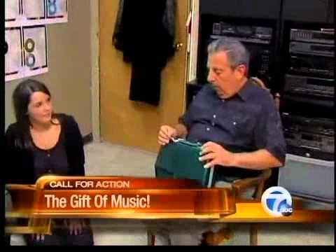 Music charity provides instruments to metro Detroit students