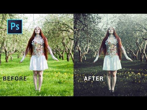 Photoshop cc Tutorial: Retro effect photoshop | vintage effect photoshop cc