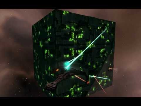 STAR TREK LEGACY MOD HD Klingons,Borg,Romulan,Assimilated Ships (2012)
