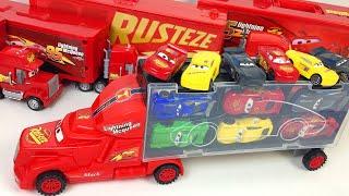 Игрушки Машинки Большой Грузовик Транспортер Автовоз Тачки Распаковка Видео для Детей