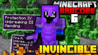 I Became INVINCIBLE in Hardcore Minecraft (#6)