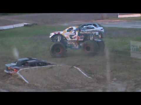 All American Monster Truck Tour - Black Stallion (Donut Competition)