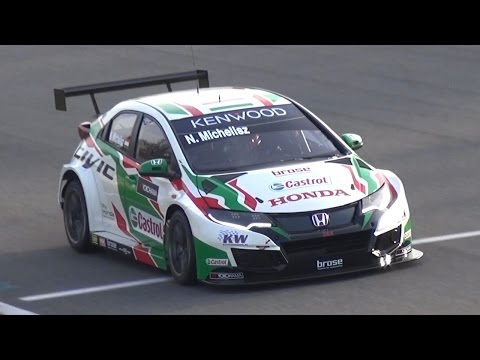 WTCC 2017 Official Test at Monza Circuit - World Touring Car Championship PURE SOUND!