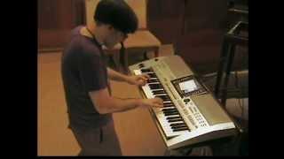 Dj Antoine - Ma Cherie + Welcome to St Tropez + Shake 3x + Broadway + Come Baby - Keyboard Piano
