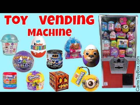 Toy Vending Machine Surprizamals Num Noms...
