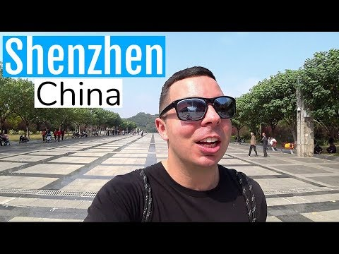 Shenzhen China City Tour