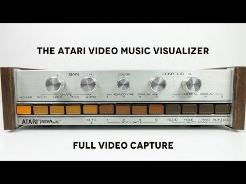 Atari Video Music Machine - Courtesy of Techmoan