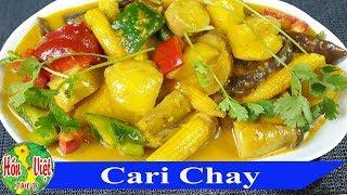 Cạn Lời Khen Cho Món CARI CHAY Tuyệt Đỉnh Này | Hồn Việt Food =====...