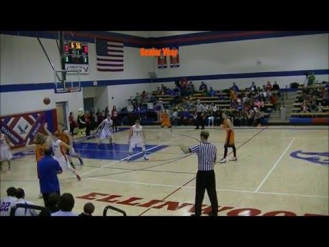 6'6 Brendon Brenner, Class of 2016, Ellis High School basketball Highlights, Kansas