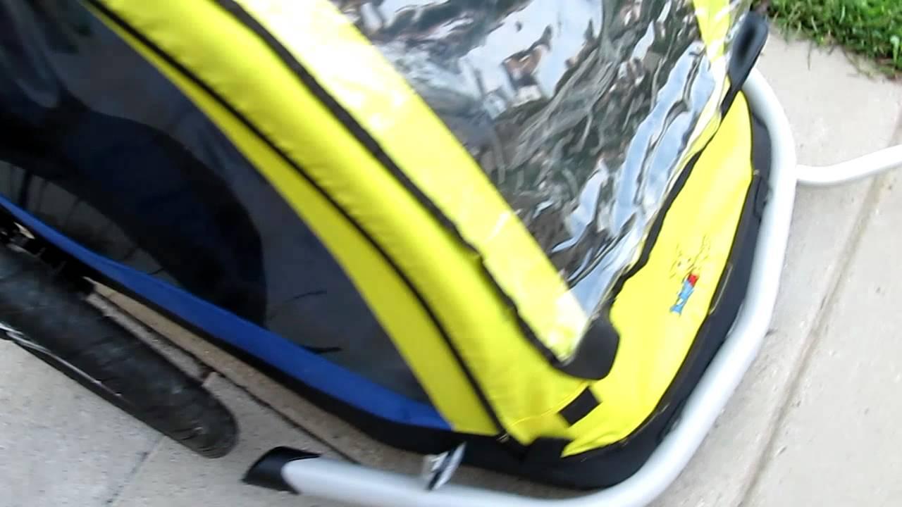 Kid A Roo Bike Trailer Youtube