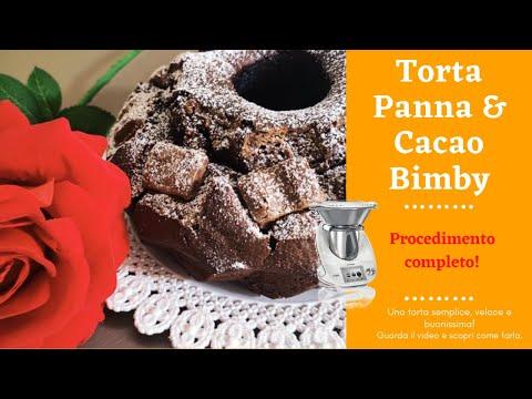 Ricetta Torta Panna e Cacao Bimby - O Cioccolato! - Semplice e buonissima