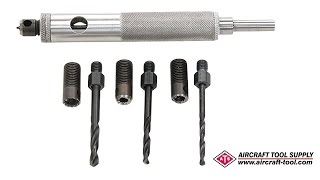 How to remove riטets with the 1341S Rivet Removal Tool Instructional Video
