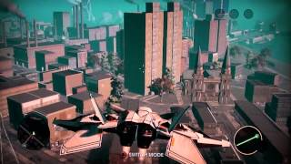Saints Row 3 Cheats - Spawn F-69 (VTOL Jet)