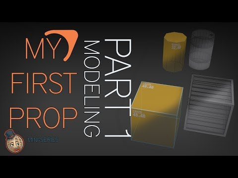 Create Your Own CS:GO Props - My First Source Prop Part 1 - Modeling