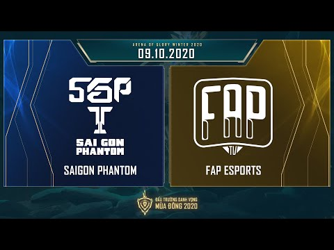 Saigon Phantom vs FAP Esports | SGP vs FAP - Vòng 12 ngày 2 [09.10.2020] - ĐTDV mùa Đông 2020
