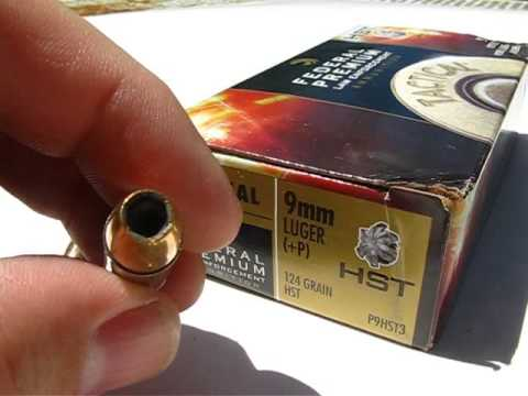 AT2 - 9mm Luger - Federal HST 124 Gr +P JHP