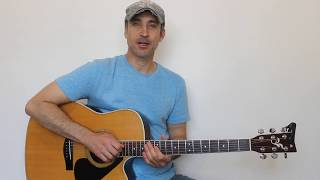 Working On Me - Clay Walker - Guitar Lesson  Tutorial