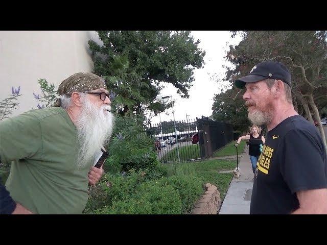 Return to Street Preaching! Atheist encounter @ Oktoberfest