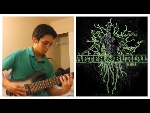 After The Burial  Berzerker Full Guitar