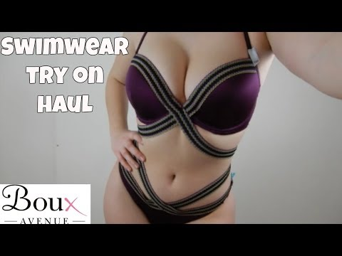 Swimwear That Fits Like Lingerie - Boux Avenue Try On Review