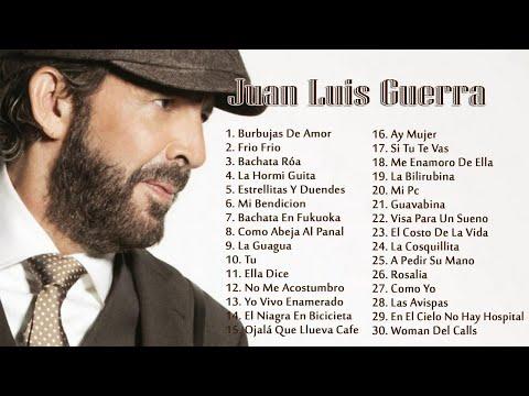 Juan Luis Guerra EXITOS, EXITOS, EXITOS Sus Mejores Canciones – Juan Luis Guerra Mix Nuevo 2018