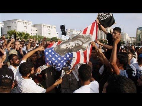 Protestors Storm U.S. Embassy in Tunisia