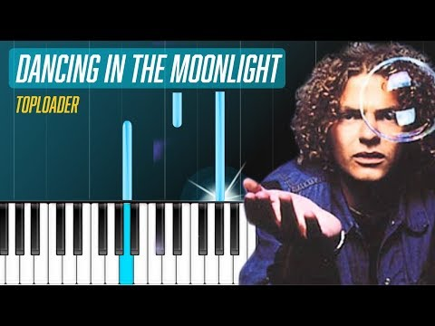 """Toploader - """"Dancing In The Moonlight"""" Piano Tutorial - Chords - How To Play - Cover"""