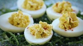 Appetizer Recipes - How To Make Simple Deviled Eggs