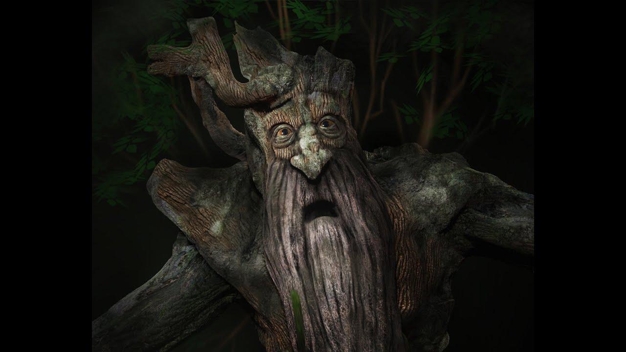 Картинки деревьев из властелина колец