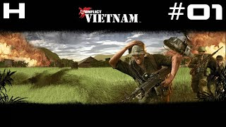 Conflict Vietnam Walkthrough Part 01 [PC]
