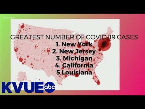 COVID-19 Per Capita: Comparing Texas To Other States | KVUE