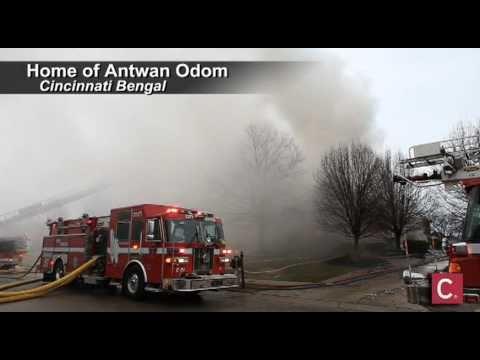 Cincinnati Bengal Antwan Odom's House Burns