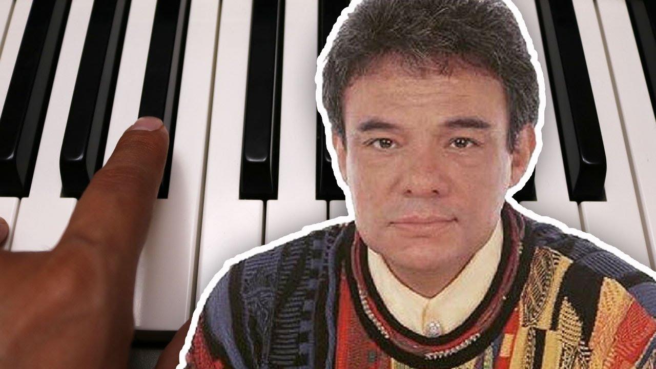 Piel de Azúcar / José José / Piano Tutorial / Notas Musicales