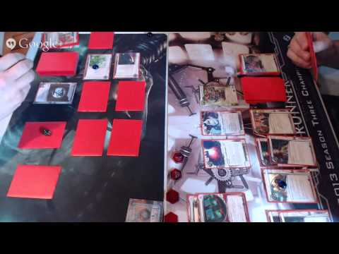 Netrunner Live Game Feed; Bad Publicity 08/02/2014 part 2
