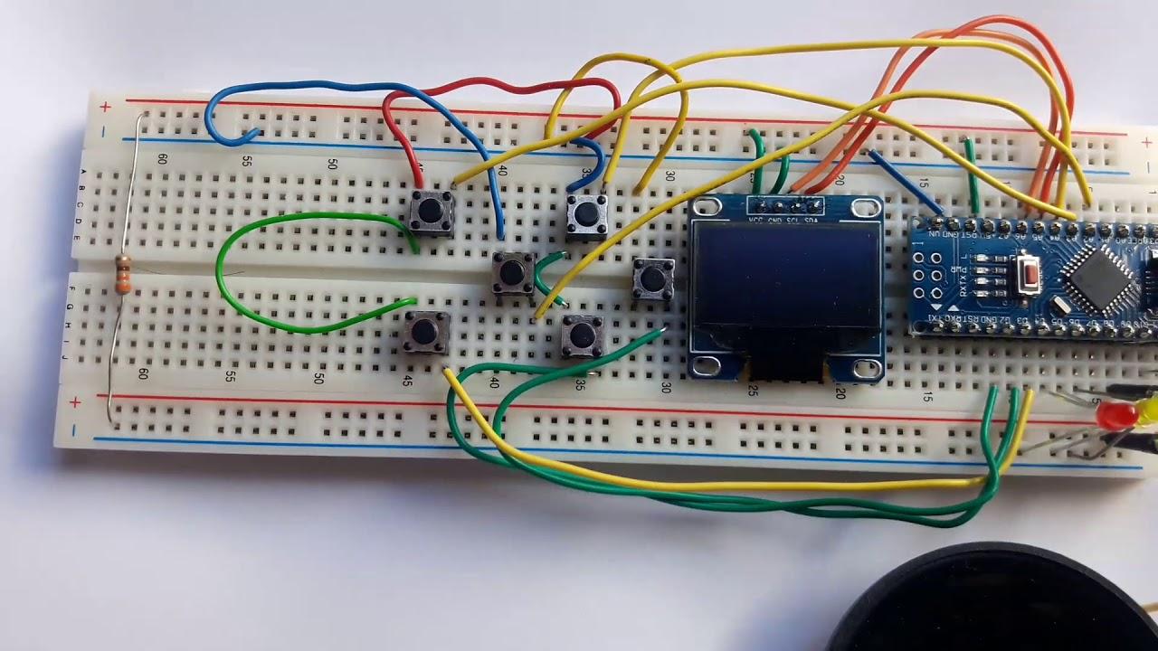 Arduboy on Arduino Nano and I2C display