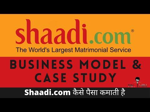 Shaadi.com Revenue model and history | How shaadi.com makes money