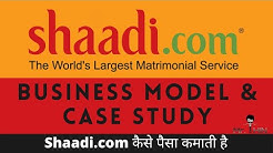 Shaadi.com Business model and history | How shaadi.com makes money