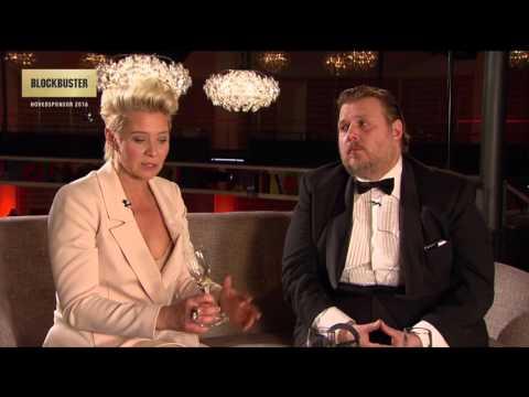 Nicolas Bro og Trine Dyrholm  Robert Prisen 2016
