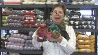 Noro Silk Garden Yarn Review Video