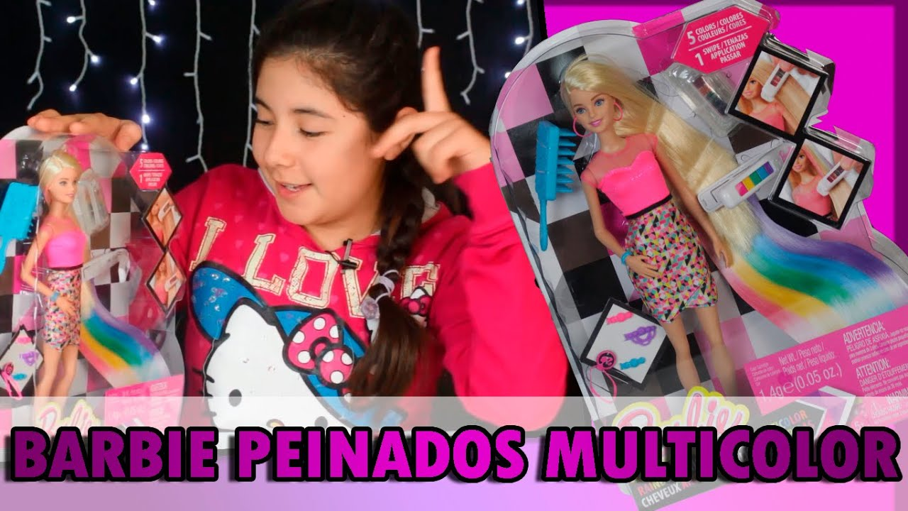 Las mejores variaciones de barbie peinados Colección De Cortes De Pelo Ideas - Barbie peinados multicolor - YouTube