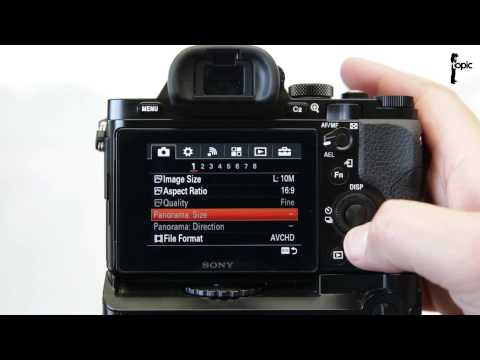 Setting up the Sony a7s (Mark I) to Record at 100 or 120 frames per second