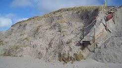 Hörnum Sylt bei der Strandsauna, kein Weg mehr 26.02.2020