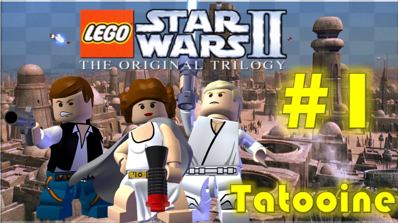 LEGO Star Wars II The Original Trilogy (GBA) - Part 1: Tatooine (A New Hope)