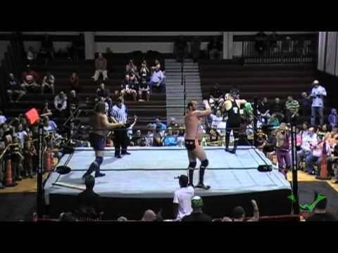 WWE Hacksaw Jim Duggin, Patrick O Malley vs Michael McKinger, PaPa Terry Kadillac