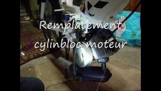 Remplacement silent bloc moteur peugeot 103
