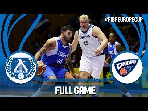 Lukoil Levski (BUL) v BC Dnipro (UKR) - Full Game - Gameday 1 - FIBA Europe Cup 2018-19