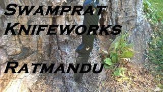 Swamprat Knifeworks Ratmandu